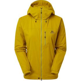 Mountain Equipment Kinesis Kurtka Kobiety, żółty